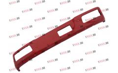 Бампер F красный металлический (до 2007г) для самосвалов фото Армавир