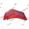 Брызговик передней оси правый H2 красный HOWO (ХОВО) WG1642230004 фото 3 Армавир